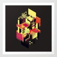 Utopia In Six Or Seven C… Art Print