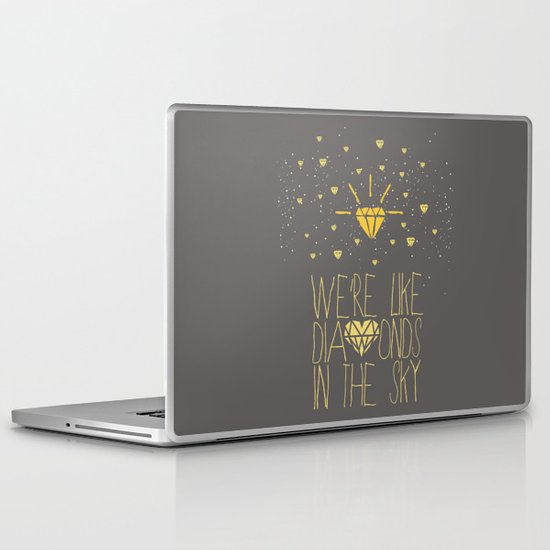 bright like a Diamond Laptop & iPad Skin