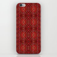 Spice Denim Mandalas iPhone & iPod Skin