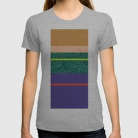 80 States  Womens Fitted Tee Athletic Grey SMALL