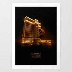 Casino Art Print