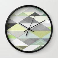 Nordic Combination III Wall Clock