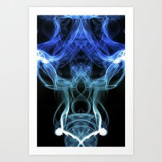 Smoke Photography #28 Art Print