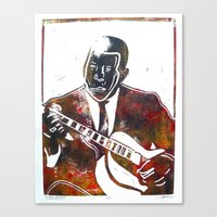Canvas Print featuring Muddy Waters 2/3 by Evan Hawley
