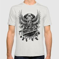 Dream Quest II Mens Fitted Tee Silver SMALL