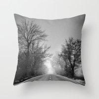 Follow your dreams .... Monochrome Throw Pillow