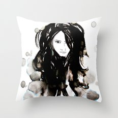 Night Creatures No.3 Throw Pillow