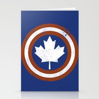 Captain Canada Stationery Cards