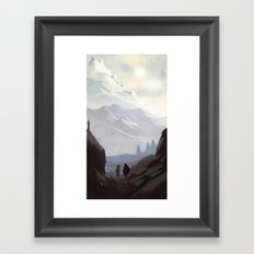 Throat of the World Framed Art Print