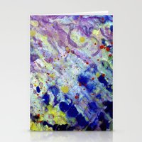 Transparent War Of Color… Stationery Cards