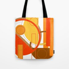 Typography: Orange You Glad I Didn't Say Banana Tote Bag