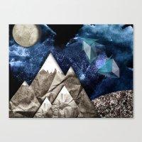 Paper dreams Canvas Print