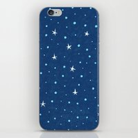 Stars And Peaks iPhone & iPod Skin
