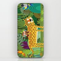 iPhone & iPod Skin featuring Jungle by Milanesa