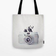 The Panda and The Ikonette Tote Bag