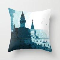 Dark Night Throw Pillow