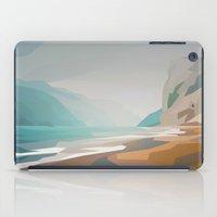 Cliffs - misty iPad Case