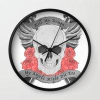 Kill my Demon Wall Clock