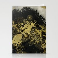 Black And Gold Stationery Cards