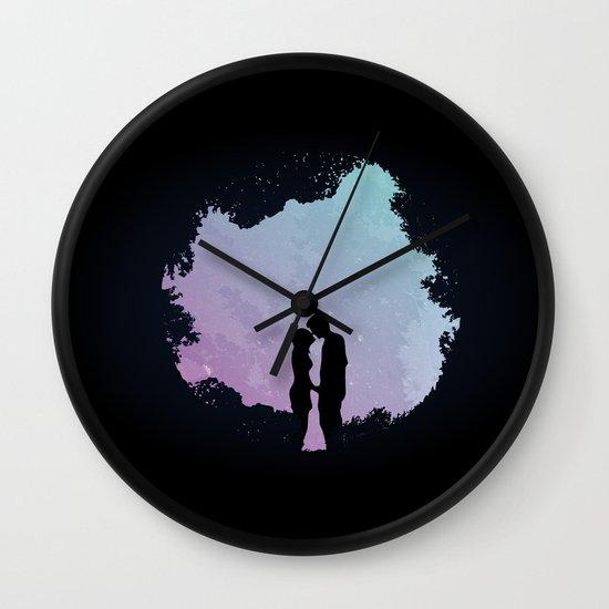 Edge of the Moonlight Wall Clock
