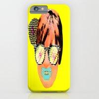 Digital baby lady iPhone 6 Slim Case