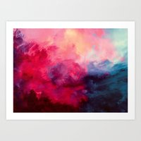 ocean Art Prints featuring Reassurance by Caleb Troy