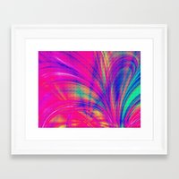 Splash. Framed Art Print