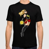 Flying High Mens Fitted Tee Black SMALL