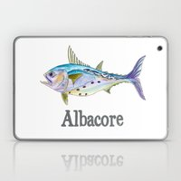 A is for Albacore Laptop & iPad Skin