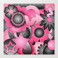 Bubble Gum Bash Canvas Print
