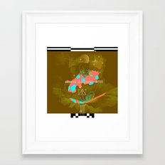 iscay huarancca chunca tahua-yocc Framed Art Print