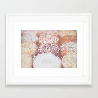 Delicious Donuts Framed Art Print