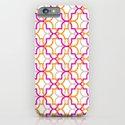 Moroccan Trellis Overlaps iPhone & iPod Case