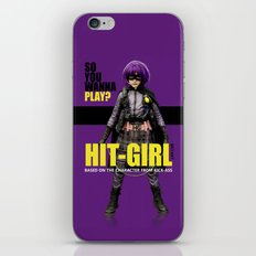 Hit-Girl iPhone & iPod Skin