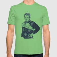 The Manzier Mens Fitted Tee Grass SMALL