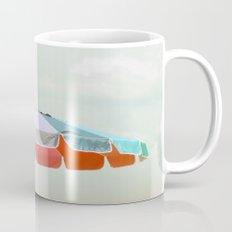 beach umbrella Mug