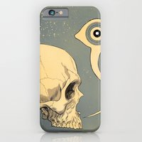iPhone & iPod Case featuring Untitled (skull) by Señor Salme