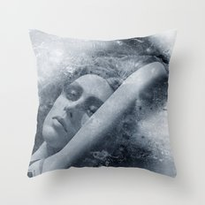 Modeled Throw Pillow