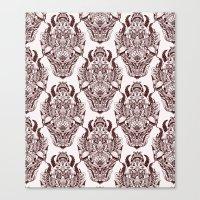 wallpaper design Canvas Print