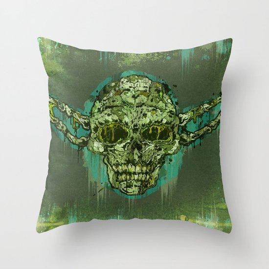 Dagoba Gremlin Throw Pillow