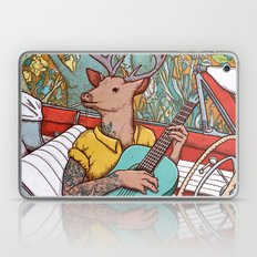 A ride and a song Laptop & iPad Skin