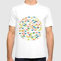 Colombia Mens Fitted Tee White SMALL