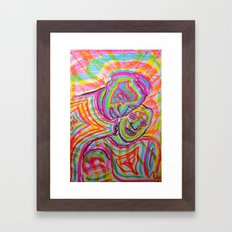 Let Our Love Flow Framed Art Print