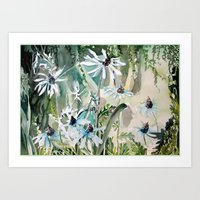 Daisy Daisy Art Print