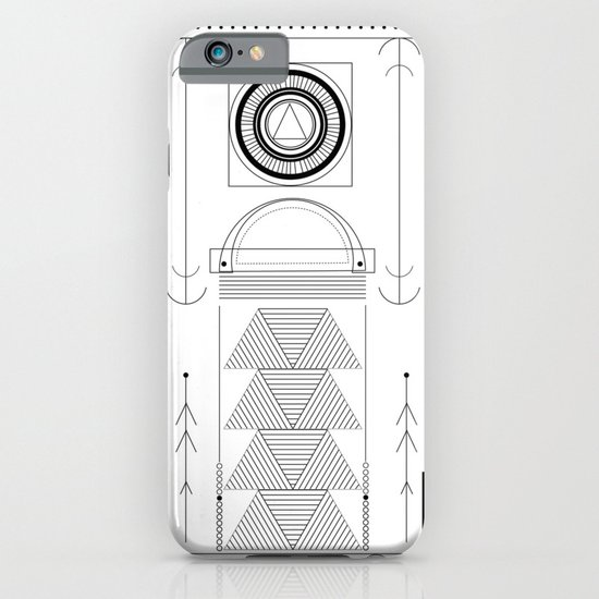 cirquit blank iPhone & iPod Case