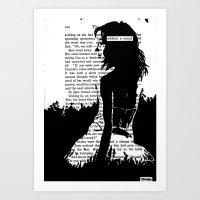 Without A Sound Art Print
