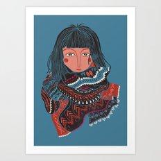 The Nomad Art Print
