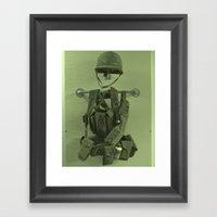 Call Of Duty Framed Art Print