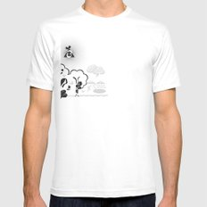 Eve White Mens Fitted Tee SMALL