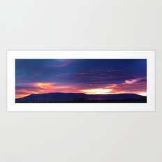 Grand Junction Sunrise Art Print